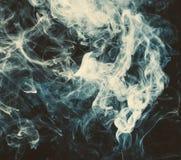 White smoke. Texture of smoke. Stock Image