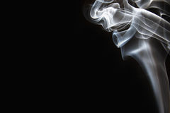 White smoke Stock Images