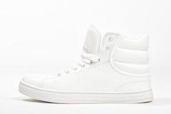 White sneaker on white background Stock Image