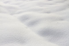 White snow Stock Photos