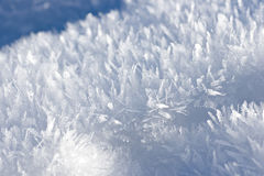 White snow Stock Photo