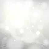 White snow background Stock Image