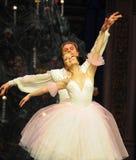 The white snow fairy-The Ballet  Nutcracker Stock Photo