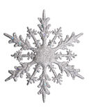 White Snow flake. Snow flake on a white background Royalty Free Stock Image