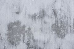 White snow and ice in the center an abstract background texture. For web-design, a banner, design Royalty Free Stock Photography