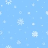 White snow pattern Stock Photo