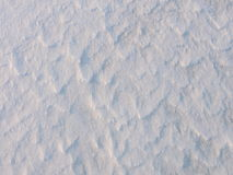 White snow surface texture Stock Images