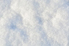 White snow texture background Stock Images