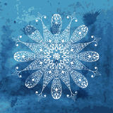 White snowflake Royalty Free Stock Photos