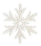 White snowflake Royalty Free Stock Images
