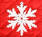 White snowflake Stock Photos