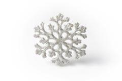 White Snowflake on a white background. Winter Stock Image