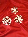 White snowflakes Royalty Free Stock Image