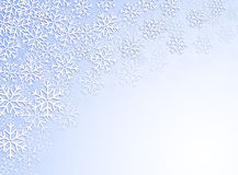 White snowflakes Stock Photo