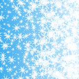 White snowflakes Royalty Free Stock Photo