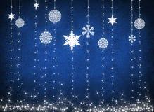 White snowflakes Royalty Free Stock Photo