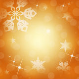 White snowflakes Stock Photography