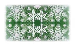 White snowflakes Stock Image
