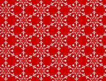 White snowflakes pattern Royalty Free Stock Image