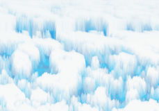White snowy ice Royalty Free Stock Photo