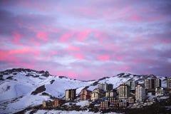 White Snowy Mountain Royalty Free Stock Images