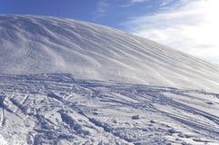 White snowy mountain Stock Photo