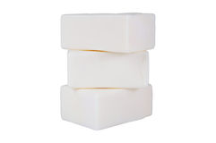 White soap stock photo