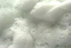 White soap foam Royalty Free Stock Photo