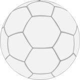 White Soccer Ball Stock Image