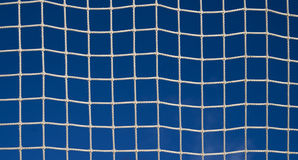 White soccer net Royalty Free Stock Photos