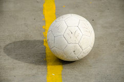 White soccer Royalty Free Stock Photo