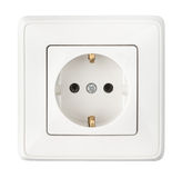 White socket royalty free stock image