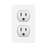 White socket Stock Image