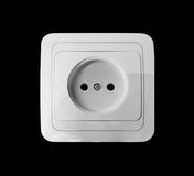 White socket Royalty Free Stock Images