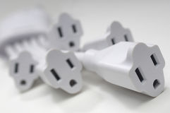 White Sockets Stock Image