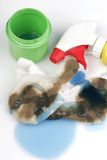 White Socks. Really dirty white socks worn by a toddler outside with detergents stock photography