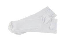 White socks Royalty Free Stock Images