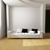 White sofa Royalty Free Stock Photography