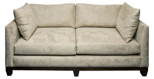White Sofa Royalty Free Stock Photos
