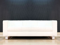 White sofa Stock Image