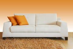 White sofa Stock Images