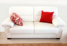 White sofa Royalty Free Stock Photography