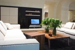 White sofa in interior Royalty Free Stock Photos