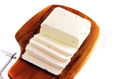 White Soft Goat Cheese Royalty Free Stock Image
