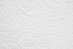 White soft snow surface texture Stock Image