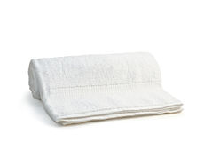 White soft terry-cloth Stock Images