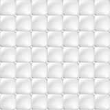 White soft upholstery texture - seamless. White soft upholstery texture - seamless vector background Royalty Free Stock Photography