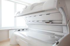 White solarium in white room Royalty Free Stock Photography