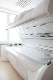 White solarium in white room Stock Photography