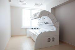 White solarium in white room Stock Image